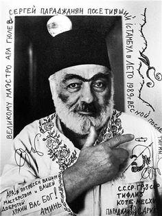 Ara Güler, Sergei Paradjanof, Istanbul, 1996