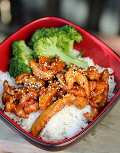General Tso's Chicken-My husband enjoys this chicken and it looks like something I may like as well.  Score!
