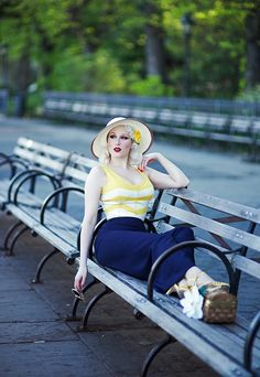 I'm honored to introduce you to a wonderful brand I have fallen in love with, Emmy Design Sweden! Fifties Fashion, Retro Fashion, Vintage Fashion, Vintage Style, Retro Style, Vintage Girls, Vintage Outfits, Retro Vintage, Miss Mosh