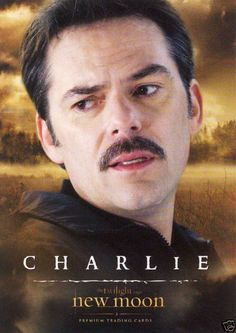The Twilight Saga New Moon Poster Featuring Charlie Swan....