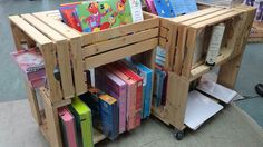 Upcycling wooden crates - cool ideas to decorate your home