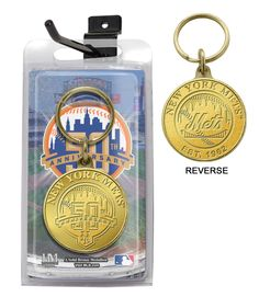 AAA Sports Memorabilia LLC - New York Mets 50th Anniversary Bronze Coin Keychain, $8.95 (http://www.aaasportsmemorabilia.com/mlb/new-york-mets/new-york-mets-50th-anniversary-bronze-coin-keychain/)