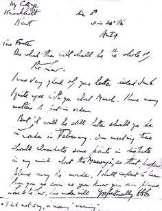 Carta  de Aleister Crowley para Fernando Pessoa -