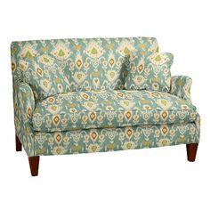 Hudson Upholstered Settee