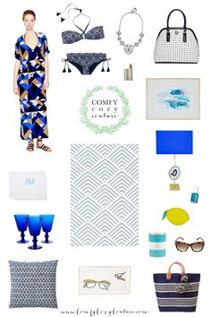 Comfy Cozy Couture: Wednesday Wish List   Spring Blues