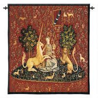 The Sense of Sight Wall Tapestry