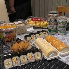 Cute Food, Good Food, Yummy Food, Tumblr Food, Asian Snacks, Think Food, Aesthetic Food, Alcohol Aesthetic, Korean Aesthetic