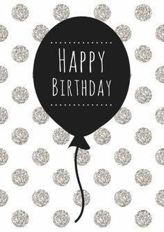 Birthday Quotes : verjaardagskaarten verjaardagskaart-ballon-w. Happy Birthday Wallpaper, Happy Birthday Beautiful, Happy Birthday Pictures, Birthday Wishes Quotes, Happy Birthday Messages, Happy Birthday Greetings, Birthday Greeting Cards, Happy Birthday Sweet Girl, Happy Wallpaper