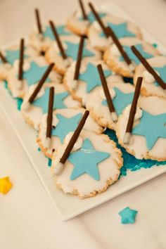 Magic Party Cookies - twilight choc sticks or mikado would sme good wands
