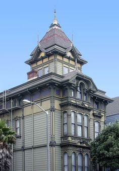 Westerfeld House  / 1198 Fulton Street At Scott, San Francisco, CA, US / Built 1889 / The Westerfeld House, designed by Henry Geilfuss, was built in 1889 for banker and candy baron William Westerfeld, one of many prosperous German immigrants who built grand homes in the area around Alamo Square.
