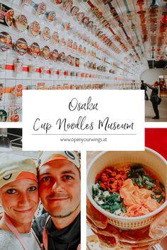 Du bist auf der Suche nach coolen Museen oder Workshops in Japan? Dann habe ich genau das Richtige für dich: Das Cup Noodles Museum bei Osaka Osaka, Japan Travel Guide, Tricks, Travel Inspiration, Hotels, Museum, Nature, Food, Japan Travel