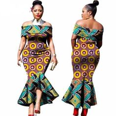 Thick and curvy ladies ankara gown styles for thick ladies, ankara gown for plus size curvy ladies #plussizefshion #Plussize #africanfashion #africanprint #ankara #ankarastyles