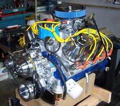 ford 351 windsor   Ford 351 Windsor Stroker Motor ~ Ford 302,351w,Stroker Engines ...