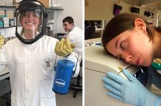 "Women Scientists Are Tweeting ""Sexy"" Photos Of Themselves At Work To Shut Down Sexism"