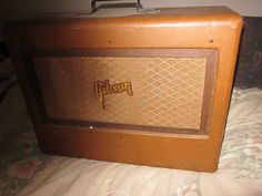Old Guitar Amp (Description much?)