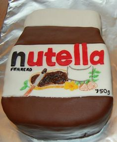 If it tastes like nutella then it's a dream come true! I grew up on that stuff.