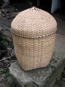 White oak basket -