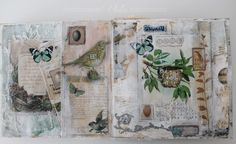 Shabby Chic Inspired: mixed media envelope album part 1