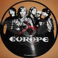 27.50 € Horloge vinyle décoration Europe