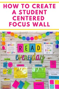 I love finding a way to make my bulletin boards engaging and interactive for my students. My thinking is, if I'm going to display something on my walls, I might as well make it useful for my students. If you are looking for a way to make your reading bulletin board more engaging and interactive, check out this blog post.