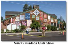 Sister's Outdoor Quilt Show, in Sisters, OR