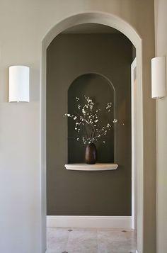 neutral tones contemporary lighting art niche web