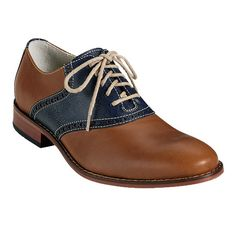 I could rock these...Air Colton Saddle Oxford, by Cole Haan