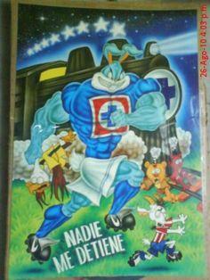 EL IMMORTAL por ASTARTE666AZUL - La Mascota Azul - Fotos de Cruz Azul, La galería de fotos más extensa de los aficionados a Cruz Azul. Comparte tus fotos de Cruz Azul