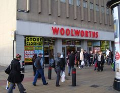 Peterborough Woolworths 2008