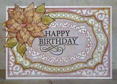 JustRite Papercraft Grand Birthday Sentiments