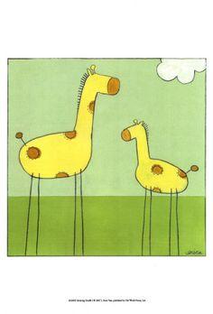 stick leg giraffes