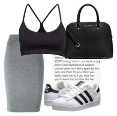 """"""""""" by kimah101 ❤ liked on Polyvore featuring adidas Originals, MICHAEL Michael Kors, Alexander McQueen and Filippa K"""