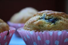 very common blueberry muffins