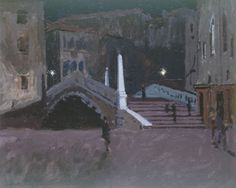 Peter Campbell · At Dulwich Picture Gallery: Sickert's Venetian Pictures · LRB 28 May 2009 Hall Painting, Painting Gallery, Art Gallery, Nocturne, Leicester, Walter Sickert, Dulwich Picture Gallery, Watercolor Pictures, Impressionist Artists