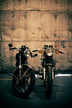 Motorcycles from the movie The Girl with the Dragon Tattoo.