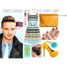 Red Carpet and TCA's with Liam. This is my polyvore account...please go follow and like my creations? For any requests, please comment: for an imagine: comment any celebrity and what you want to be doing with them/where you want to go with them. For an outfit...just comment a theme or color scheme. <3