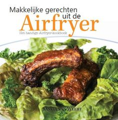 Makkelijke gerechten uit de Airfryer is het eerste Nederlandstalige kookboek gericht op het gebruik van de Airfryer. Het boek bevat een inleiding met handige informatie en tips voor de Airfryer, tientallen recepten voor gerechten uit de Airfryer en een handige baktijdentabel. Meer info: http://www.airfryerweb.nl/airfryer-kookboeken/makkelijke-gerechten-uit-de-airfryer/