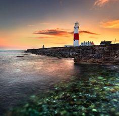 Portland Lighthouse - Dorset Coast, England