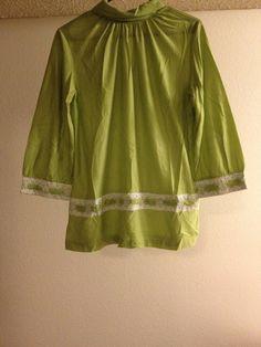 Vintage 1960s Henson Kickernick Green Lace by JezaboosCloset