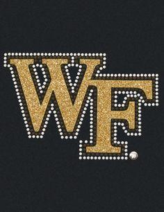 Wake Forest Demon Deacons College Logo 1C Vinyl Decal Sticker Car Window Wall
