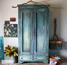 A personal favorite from my Etsy shop https://www.etsy.com/listing/550199423/morrocan-boho-inspired-vintage-armoire