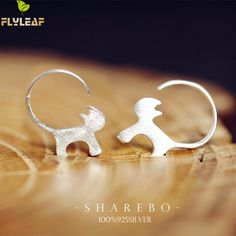 Flyleaf 925 Sterling Silver Cute Cat Earrings For Women Girl Lovely Kitty  Tud Earrings Hypoallergenic Sterling-silver-jewelry //Price: $10.95 & FREE Shipping //     #hashtag3