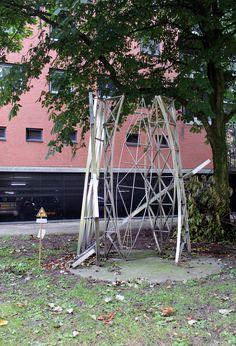 Zonder titel - Michael Jacklin - Achter het Pompenburg, Rotterdam