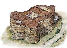 The fortress of Sassocorvaro, Pesaro by Loreno Confortini