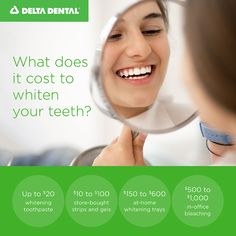 Find the teeth whitening method that works best for your smile and your budget. Teeth Whitening Methods, Healthy Teeth, Oral Health, Your Smile, Teaching Kids, Bleach, Dental, Budgeting, Education