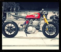 Honda XR650 Cafe Racer by Gas & Go