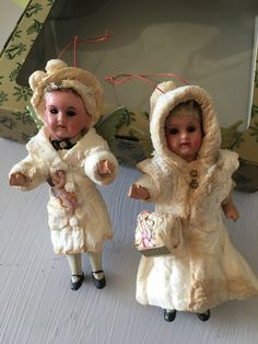 Victorian Christmas Ornaments, Antique Christmas, Christmas Decorations, Xmas, Christmas Tree, Doll Dresses, Victorian Era, Spun Cotton, Shabby Chic