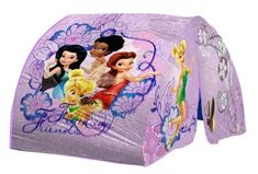 Disney Fairies Bed Tent with Pushlight -- Check this awesome product by going to the link at the image.Note:It is affiliate link to Amazon.