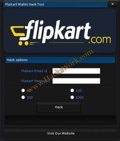 Flipkart Wallet Hack Tool