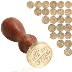 Купить товар Retro Wood Classic 26 letter A Z Alphabet Initial Sealing Wax Seal Stamp Post Decorative http://ali.pub/gkawj
